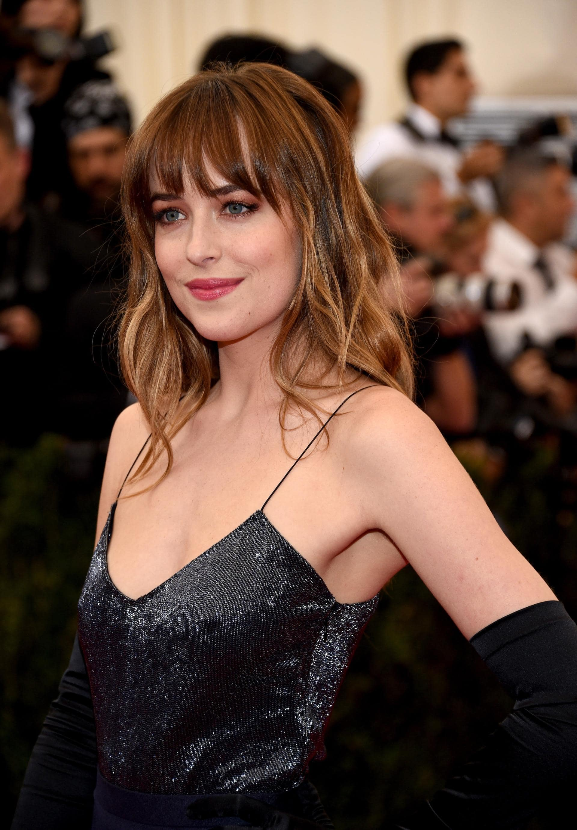 Dakota Johnson in a black dress - Dakota Johnson Net Worth, Movies, Family, Boyfriend, Pictures and Wallpapers