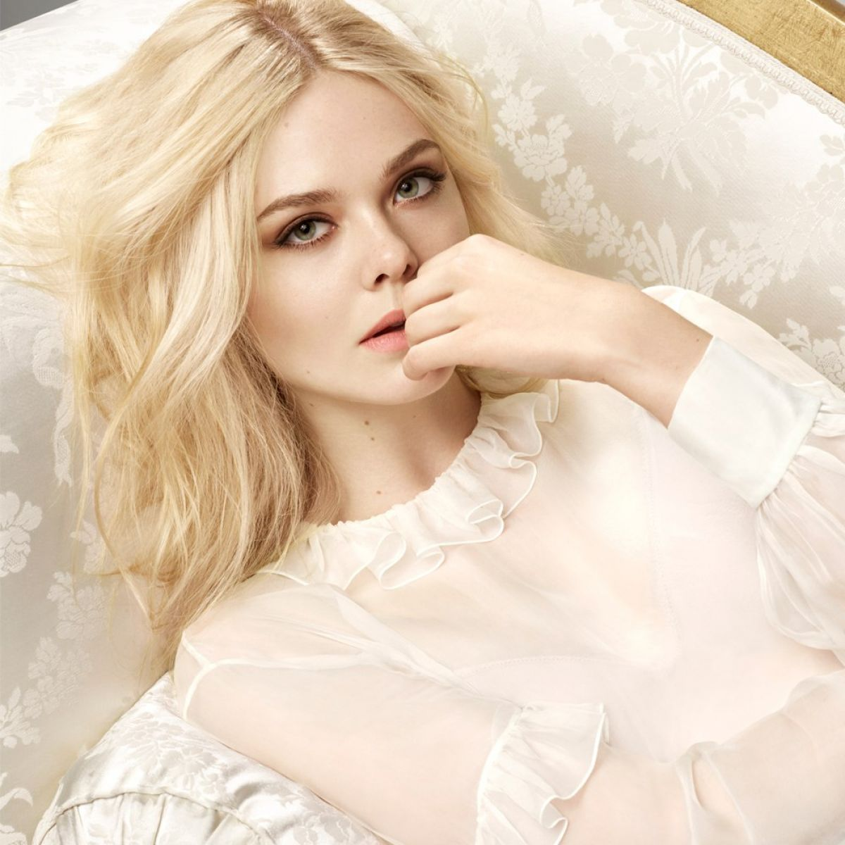 Elle Fanning Loreal Paris compaign - Elle Fanning Net Worth, Family, Movies, Private Life, Pictures and Wallpaper