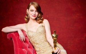 Emma Stone Oscar 300x188 - Margot Robbie Net Worth, Biography, Movies, Boyfriends, Pictures and Wallpapers