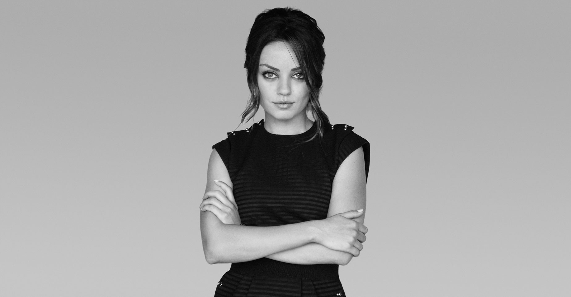 Mila Kunis black and white - Mila Kunis Net Worth, Movies, Family, Husband, Pictures and Wallpapers