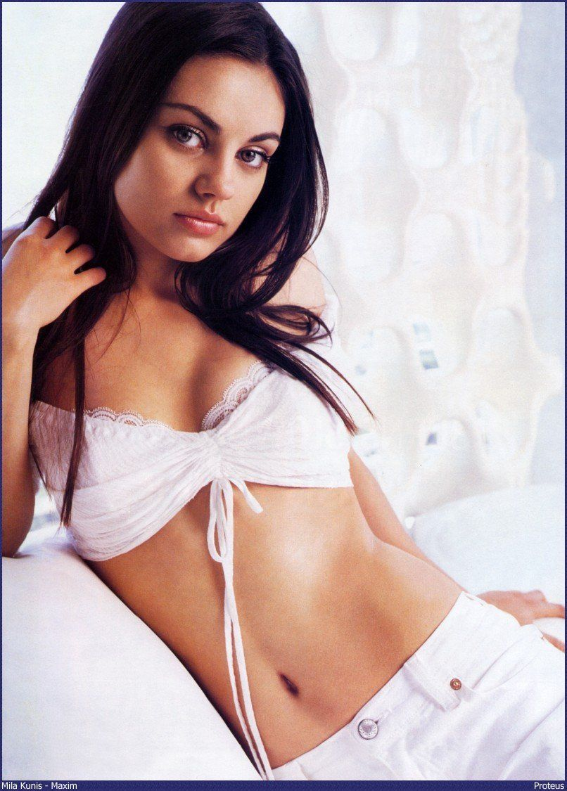 Mila Kunis white bikini - Mila Kunis Net Worth, Movies, Family, Husband, Pictures and Wallpapers