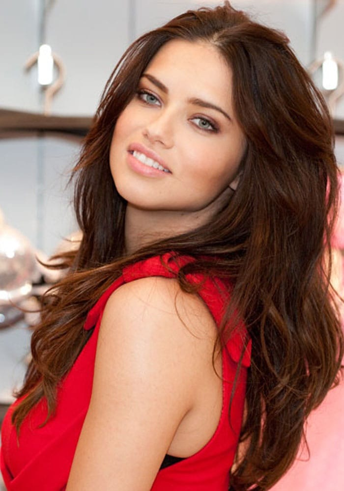 Adriana Lima Red Beauty 1 - Adriana Lima Red Beauty