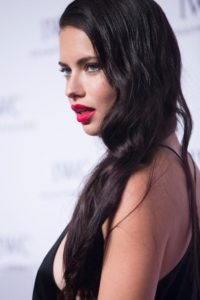 Adriana Lima Red Lips 200x300 - Beautiful Adriana Lima