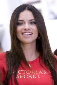 Adriana Lima Sweet Smile 200x300 - Adriana Lima Red T-shirt