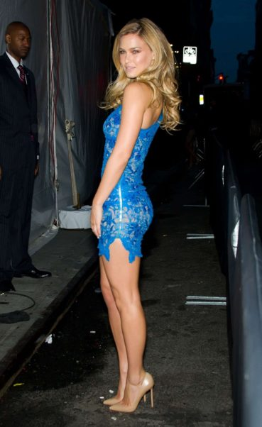 Bar Refaeli Hot Blue Dress
