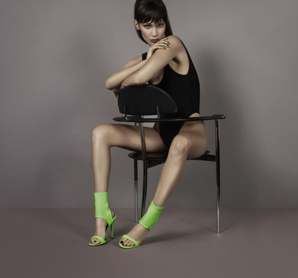 Bella Hadid Modeling On The Chair 1024x956 - Bella Hadid Modeling On The Chair