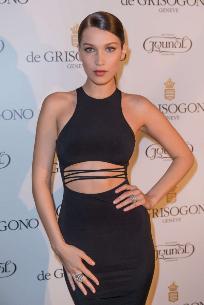 Bella Hadid Nice Black Dress 683x1024 - Bella Hadid Nice Black Dress