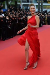 Bella Hadid Red Dress Pics 200x300 - Bella Hadid Hot Model Outside
