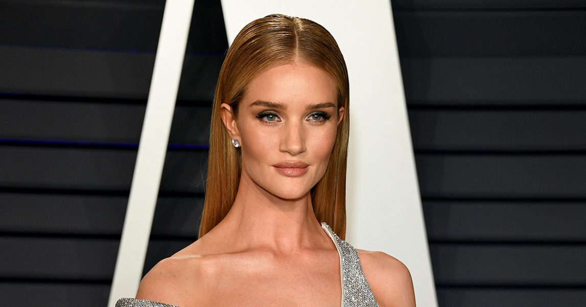Rosie Huntington Whiteley Party Pic
