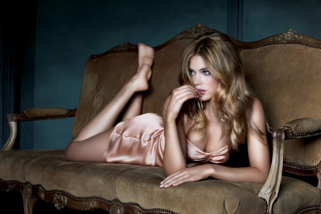Doutzen Kroes Couch Posing 1024x682 - Doutzen Kroes Net Worth, Pics, Wallpapers, Career and Biography