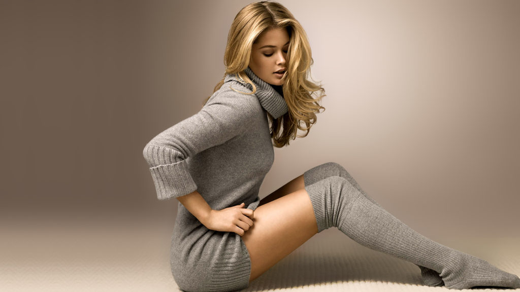 Doutzen Kroes Hot Stockings Images 1024x576 - Doutzen Kroes Net Worth, Pics, Wallpapers, Career and Biography