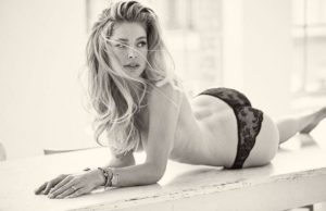 Doutzen Kroes Only Panty 300x194 - Hot Blonde Doutzen Kroes Image