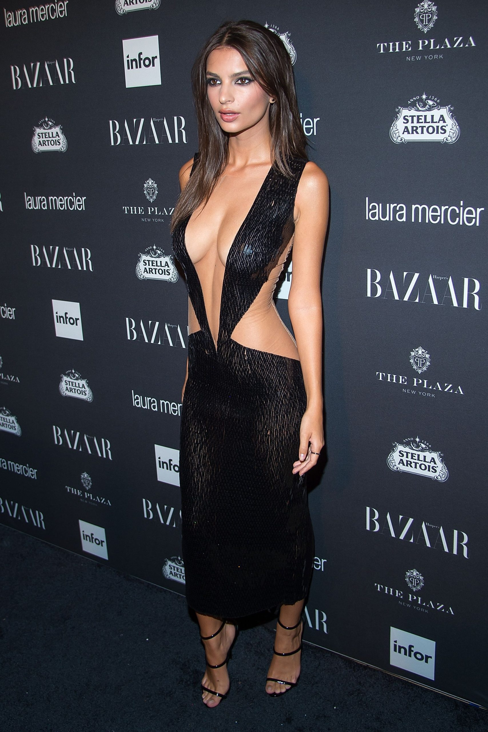 Emily Ratajkowski Black Night Dress Image scaled - Emily Ratajkowski Net Worth, Pics, Wallpapers, Career and Biography