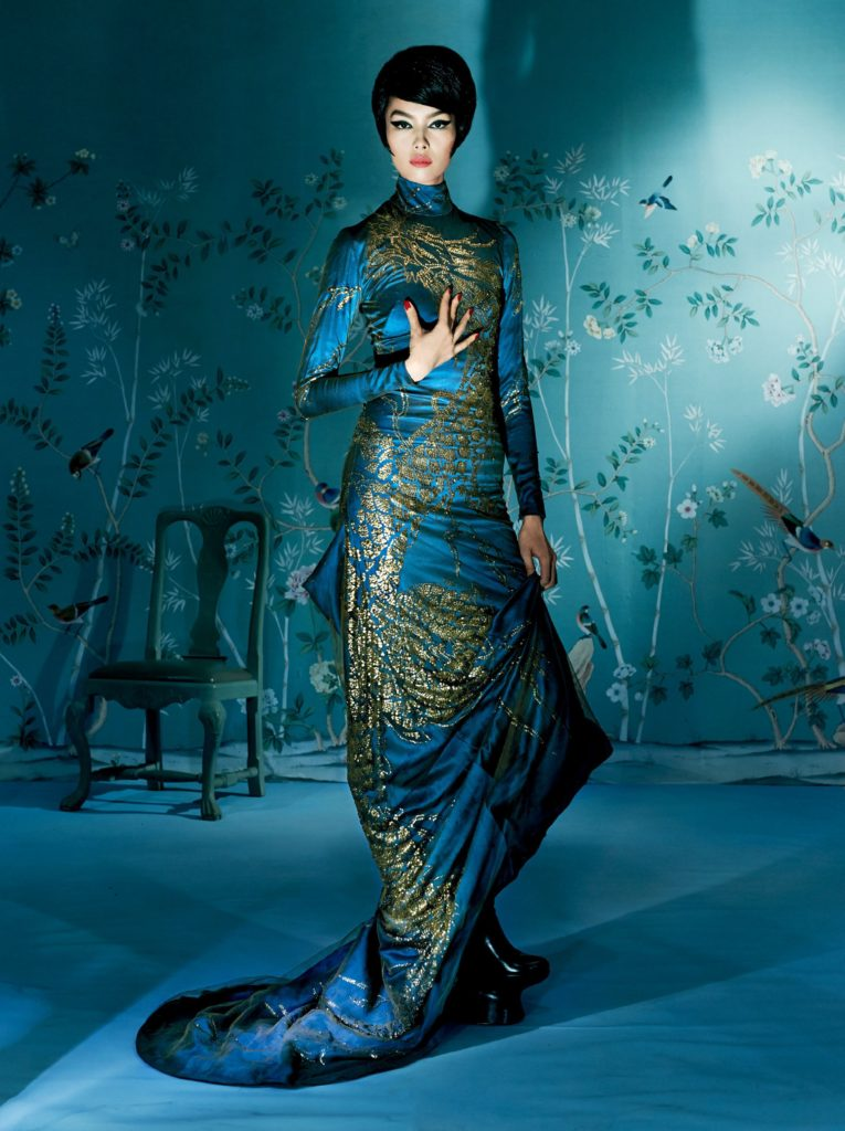 Fei Fei Sun Amazing Blue Dress 765x1024 - Fei Fei Sun Net Worth, Pics, Wallpapers, Career and Biography