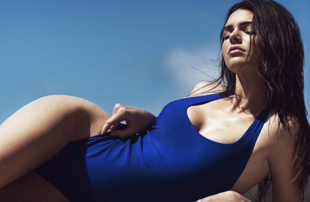 Hot Kendall Jenner Purple Swimwear 1024x668 - Hot Kendall Jenner Purple Swimwear