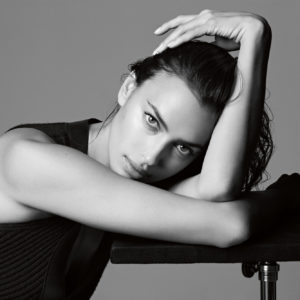 Irina Shayk Black White Photo 300x300 - Irina Shayk Hot Black Underwear Pic