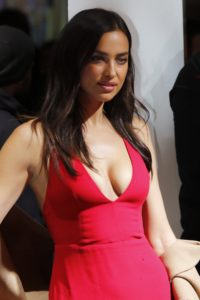 Irina Shayk Deep Revealing Red Dress 200x300 - Sweet Model Irina Shayk