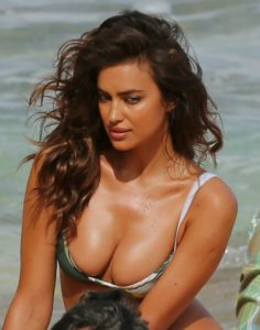 Irina Shayk Hot Bikini Modeling 236x300 - Irina Shayk Hot Black Night Dress