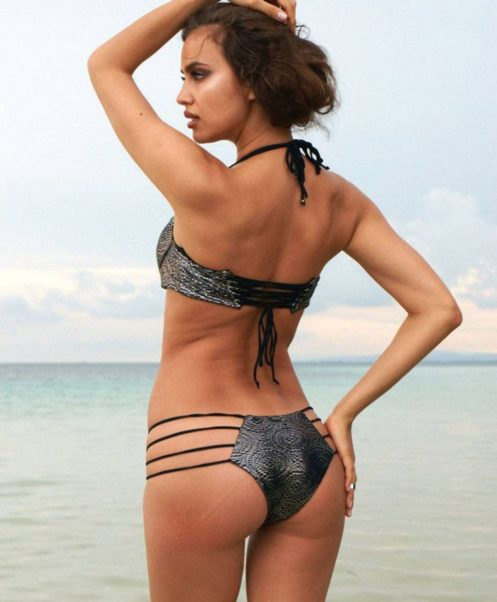 Irina Shayk Beach Photos