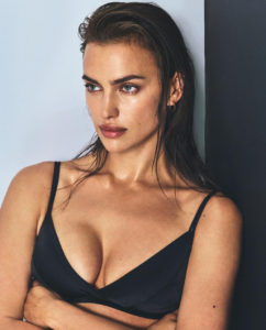 Irina Shayk Hot Black Bra Pose 242x300 - Hot Top Model Irina Shayk