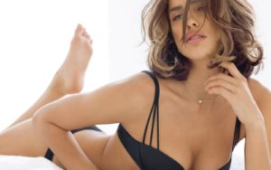 Irina Shayk Hot Black Underwear Pics 300x188 - Hot Top Model Irina Shayk
