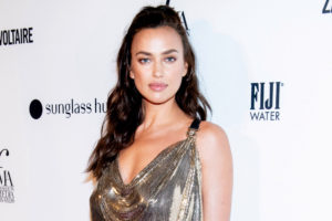 Irina Shayk Hot Night Dress 300x200 - Irina Shayk Hot Yellow Bra