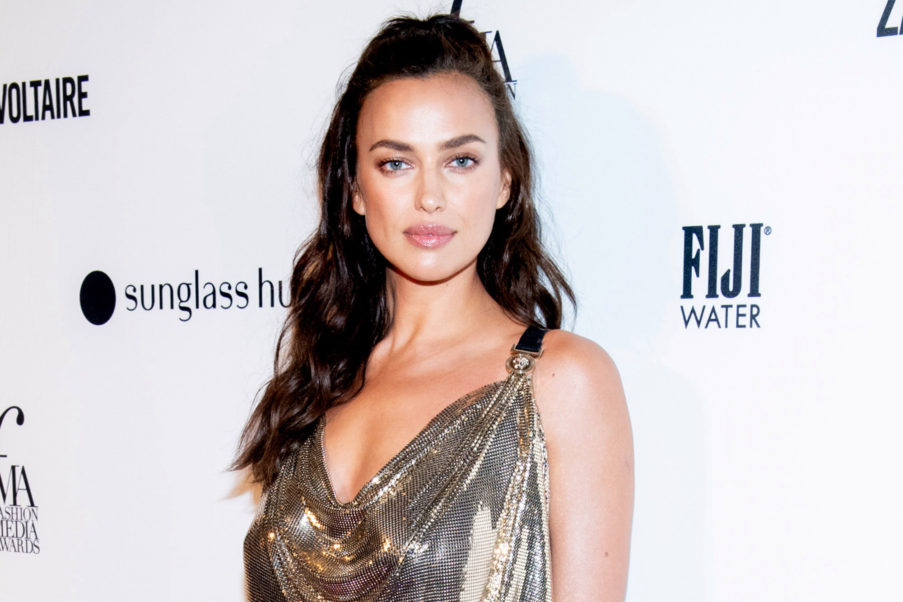 Irina Shayk Hot Night Dress