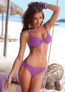 Irina Shayk Hot Purple Bikini 210x300 - Hot Top Model Irina Shayk