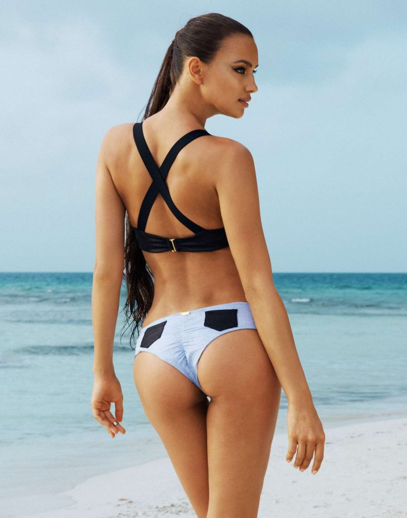 Irina Shayk Nice Bikini Pose ByThe Sea 804x1024 - Irina Shayk Net Worth, Pics, Wallpapers, Career and Biography