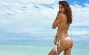 Irina Shayk Wallpapers 300x185 - Irina Shayk Hot Black Underwear Pic