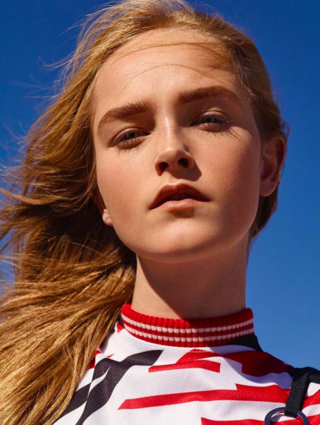 Jean Campbell Outdoors Face Pose