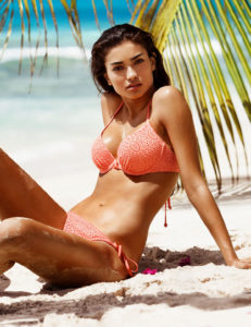 Kelly Gale Hot Pink Bikini 231x300 - Kelly Gale Top Modeling Photo