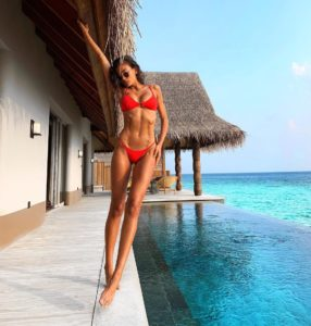 Kelly Gale Hot Red Bikini 286x300 - Kelly Gale Hot Swimwear Pic