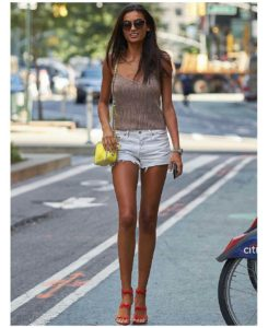 Kelly Gale Short Outside 245x300 - Hot Beauty Kelly Gale