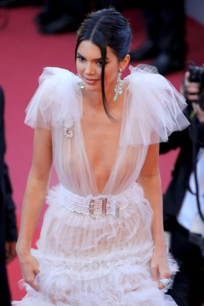 Kendall Jenner Amazing White Dress