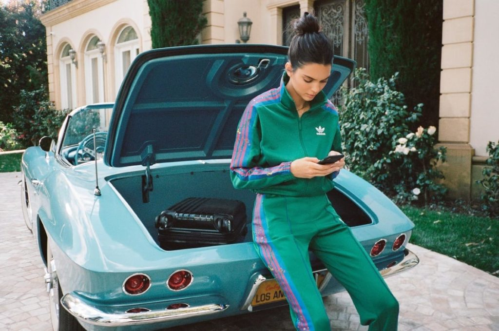 Kendall Jenner Green Sports Suits 1024x679 - Kendall Jenner Green Sports Suits