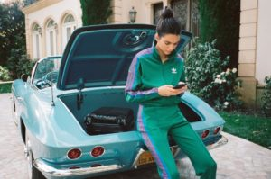 Kendall Jenner Green Sports Suits 300x199 - Kendall Jenner White Angel