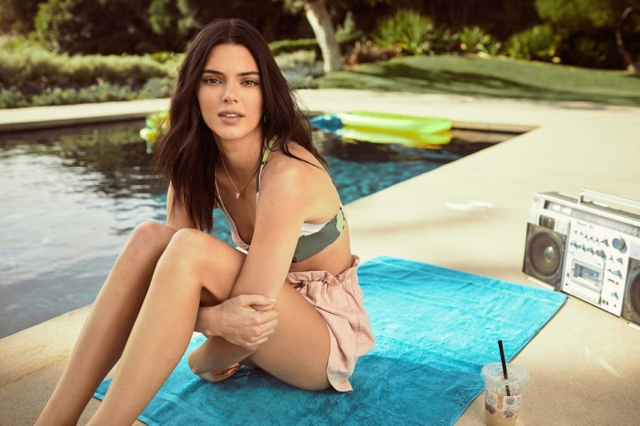 Kendall Jenner Near The Pool