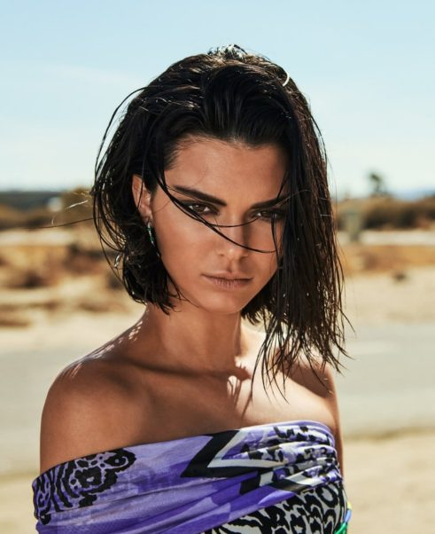 Kendall Jenner Outside Poing Photo