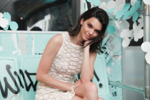 Kendall Jenner Pure Beauty White Dress 300x200 - Hot Model Kendall Jenner Orange Dress