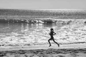 Kendall Jenner Running Pic 300x200 - Kendall Jenner At The Beach