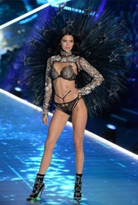 Kendall Jenner Victorias Secter Show 202x300 - Kendall Jenner White Angel