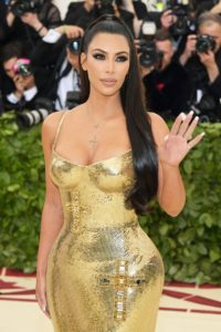 Kim Kardashian Hot Golden Dress 200x300 - Kim Kardashian Outdoor Posing