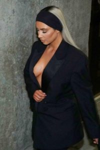 Kim Kardashian Huge Revealing 200x300 - Kim Kardashian Hot Outside Pose