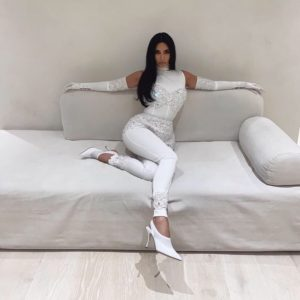 Kim Kardashian Nice White Dress 300x300 - Kim Kardashian Wonder Woman