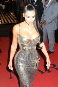 Kim Kardashian Red Carpet Pic 200x300 - Kim Kardashian Hot Outside Pose