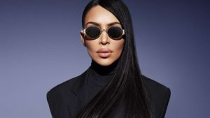 Kim Kardashian Sunglasses Pic 300x169 - Kim Kardashian Hot Golden Dress