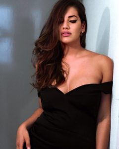 Lorena Duran Hot Black Dress Pictures 240x300 - Lorena Duran Hat Modeling