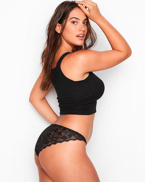 Lorena Duran Hot Black Underwear