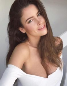 Lucia Javorcekova Hot Revealing Blouse 234x300 - Lucia Javorcekova Pretty Face Photo